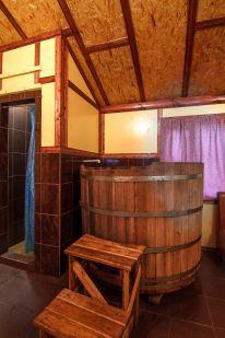 Банный комплекс «Купель на Троещине»: Средний зал