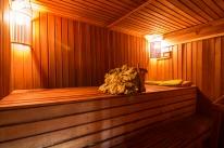 Банный комплекс «Банихата»: Домик 1 (финская сауна)