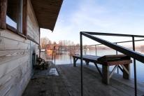Банный комплекс «Боксер» на Днепре. Бани на воде.: Большая №1