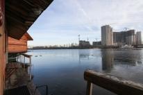 Банный комплекс «Боксер» на Днепре. Бани на воде.: Малая