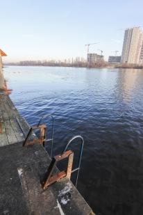 Банный комплекс «Боксер» на Днепре. Бани на воде.: Средняя