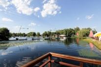 СПА комплекс Баня Афродиты (Бунгало на воде, Купание в чане, Ресторация в Бухте Афродиты): Терраса