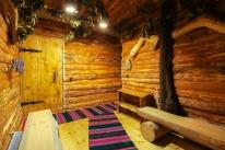Русская баня на дровах «Лесная Хижина»: Баня Царская с сеновалом