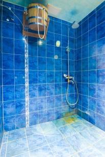 Мужская сауна «Изба»: Синий зал