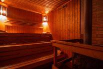 Сауны гостиничного комплекса «Червона Калина» на Днепре: Баня на дровах с бильярдом