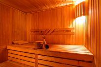 Сауны гостиничного комплекса «Червона Калина» на Днепре: Финская сауна