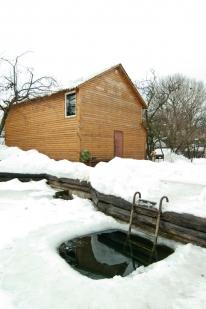 «Калиновские бани»: Двухэтажная баня