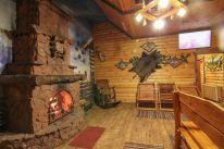 Русская баня на дровах «Лесная Хижина»: Баня Большая с камином