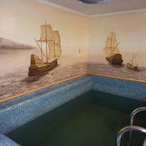 Баня «Остров Везения»: Сауна